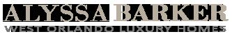 Alyssa Barker, Orlando Luxury Home Specialist Logo